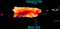 Debby 1982 rainfall.png