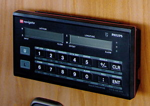 Decca Navigator System - An ap Decca receiver Mk II from the 1980s which could be purchased instead of leased. It could store 25 waypoints.