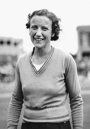 Decima Norman - Decima Norman at the 1938 British Empire Games in Sydney