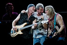 I Deep Purple, uno dei gruppi hard rock e classic metal più famosi