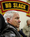 Defense.gov News Photo 101207-F-6655M-010 - Secretary of Defense Robert M. Gates listens to an operations brief from the 327th Regiment of the 101st Airborne Division deployed to Forward.jpg