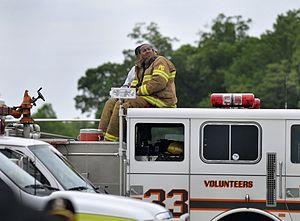 Kentland, Maryland - A Kentland fire truck in 2009.