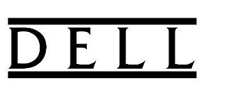 Dell - Dell's first logo from 1984 to 1989