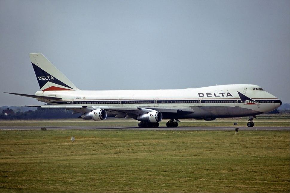 Delta Air Lines Boeing 747-100 Fitzgerald