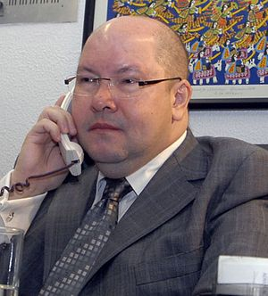 Português: Demóstenes Torres, senador por Goiás