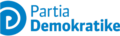 Democratic Party of Albania logo wich text.png