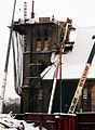 Demolition of Église St-Sauveur (Trinity Episcopal Church) in Montreal 2011.jpg