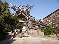 Denkmal vor der polnischen Post in Danzig.JPG