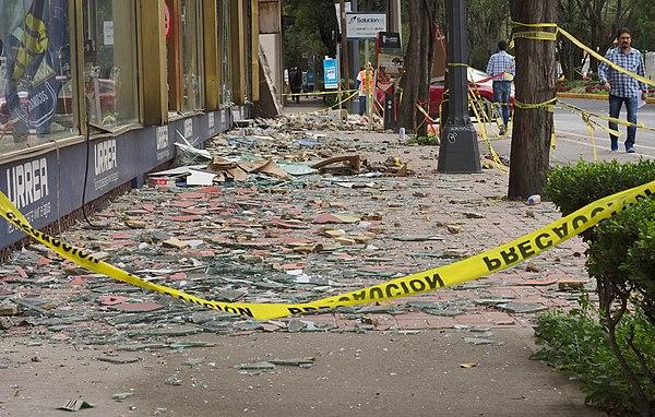 Erdbeben in Mexiko am 19. September 2017