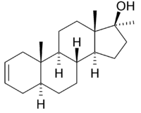 Struktur von Desoxymethyltestosteron