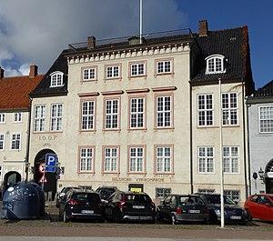 Classen Mansion - The main entrance on Havnepladsen