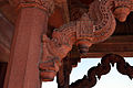Detailed carvings in the entrance of Diwan-i-Khass (Jewel House).JPG