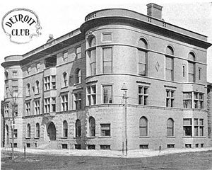 Detroit Club - The Detroit Club, c. 1899