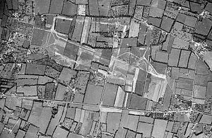 Deux Jumeaux Airfield - Remains of Deux Jumeaux Airfield after dismantling