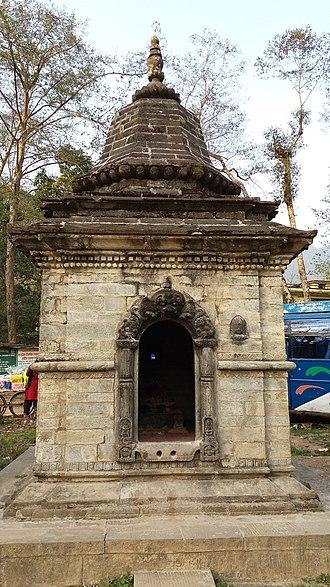 Godawari, Bagmati - Image: Dewal 2