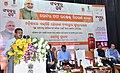 Dharmendra Pradhan addressing at the inauguration of the Letter of intent distribution Mela under Sankalp se Siddhi program, in Bhubaneswar, Odisha.jpg
