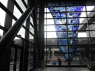 """Dick Weiss - """"For AW"""" by Dick Weiss at Seatac Airport"""