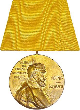 Centenary Medal (Prussia) - Image: Die Zentenarmedaille