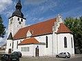 """Die evangelische Kirche """"St. Trinitatis"""" (The Evangelic Church """"St. Trinitatis"""") - geo.hlipp.de - 4934.jpg"""