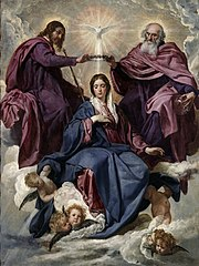 Diego Velázquez - Coronation of the Virgin - Prado