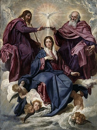 Queen of Heaven - Coronation of the Virgin, by Diego Velázquez