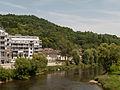 Diekirch, straatzicht vanaf brug over de Sauer foto5 2014-06-09 13.38.jpg