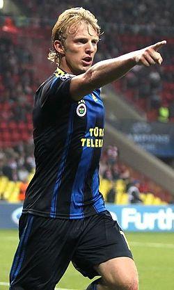 Dirk Kuijt a Fenerbahçe mezében, 2012 -ben