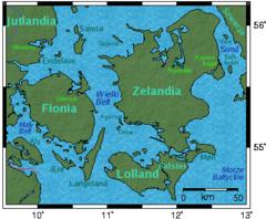 Mapa wyspy