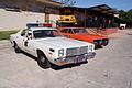 Dodge Monaco 1977 Roscoe P Coltrane Dodge Charger 1969 RT General Lee Dukes RSideFront TBS 09Feb2014 (14583026551).jpg
