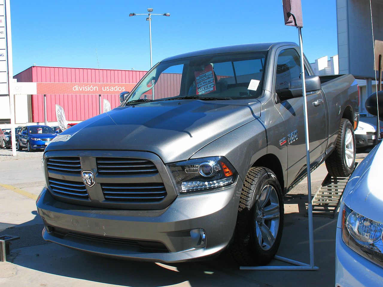 file dodge ram 1500 hemi 2014 13911838777 jpg wikimedia commons. Black Bedroom Furniture Sets. Home Design Ideas