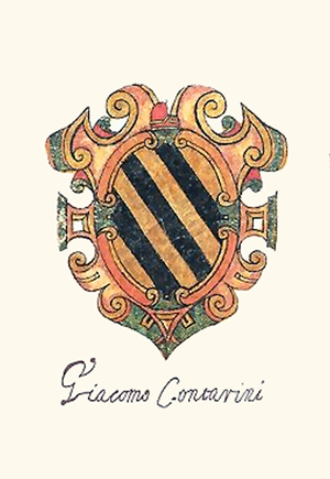 Jacopo Contarini - Coat of Arms of Jacopo Contarini.
