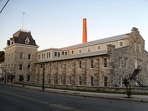 National Register of Historic Places listings in Fulton County, New York - Image: Dolge Company Factory Complex Jul 10