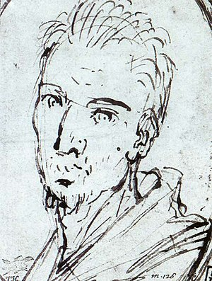 Virginio Cesarini - Virginio Cesarini, sketch by Domenichino
