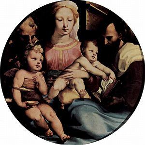 Holy Family with Saints Elizabeth and John the Baptist
