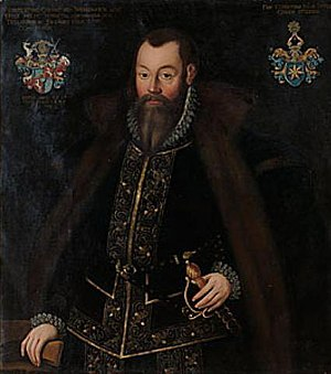 1567 in Sweden - Svante Stensson Sture by Domenicus Verwilt.