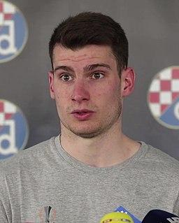 Dominik Livaković Croatian footballer