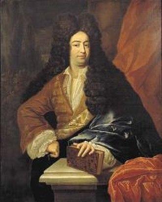 Francisco Lopes Suasso - Suasso in a portrait of ca. 1700