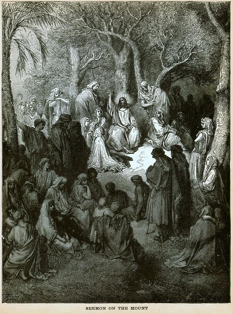 산상설교 (귀스타브 도레, Gustave Dore, 1865년)