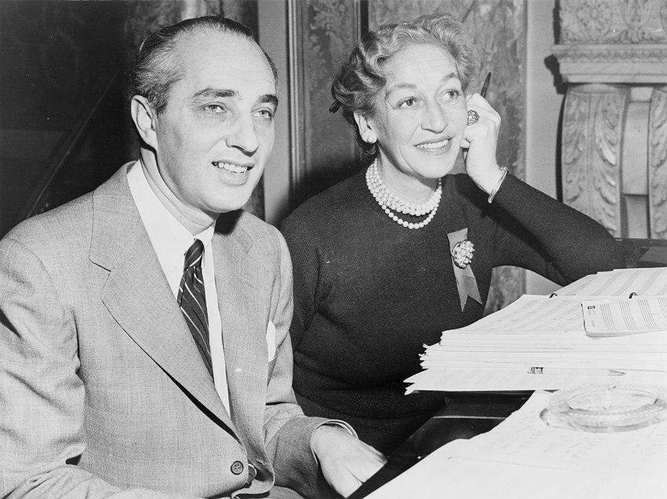 Dorothy Fields and Arthur Schwartz NYWTS