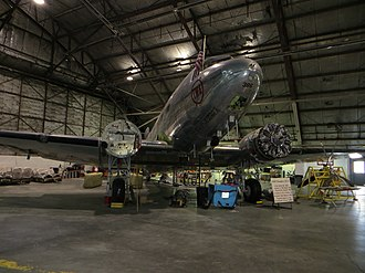 National Airline History Museum - Douglas DC-3-G202A NC1945