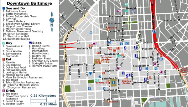 Downtown Baltimore map.png