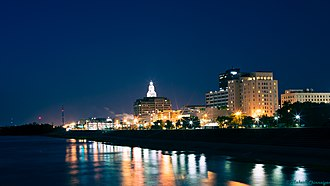Florida Parishes - Downtown Baton Rouge, Louisiana
