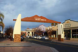 Gateway to downtown Brentwood