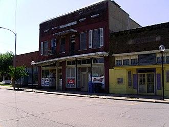 Dermott, Arkansas - Downtown Dermott