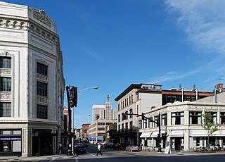 Downtown, Providence, Rhode Island United States historic place