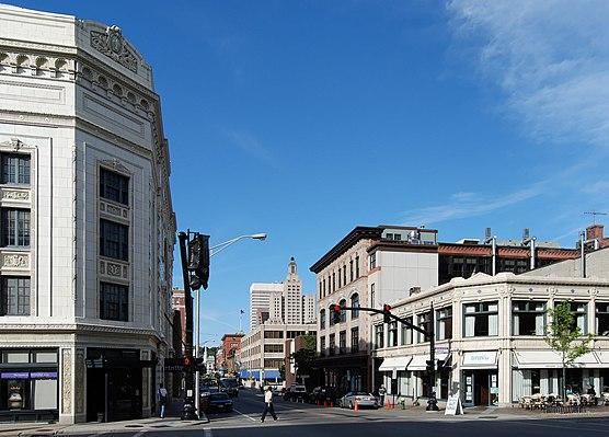 Downtown, Providence, Rhode Island