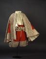 Dräkt i rött och silvertyg som tillhört Karl X Gustav - Livrustkammaren - 73721.tif