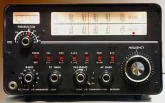 R. L. Drake Company - Drake 2B radio receiver circa 1960s