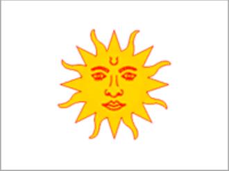 Dharampur State - Image: Drapeau Dharampur