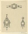 Drawing, Design for pendant, earring and bracelet, 1870–80 (CH 18561849).jpg